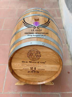 bán bom rượu gỗ sồi mỹ