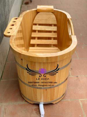 bán bồn tắm gỗ pơ mu nhật trên toàn quốc
