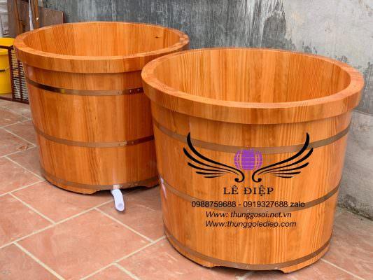 bán bồn tắm gỗ hà nội, hcm