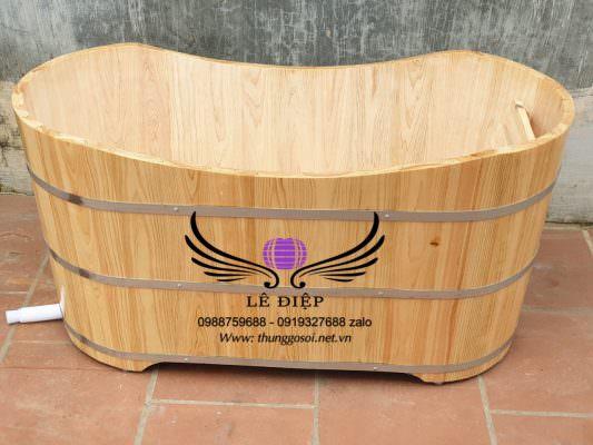 bán thùng tắm gỗ pơ mu trên toàn quốc