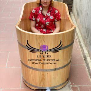 bán bồn tắm gỗ pơ mu trên toàn quốc