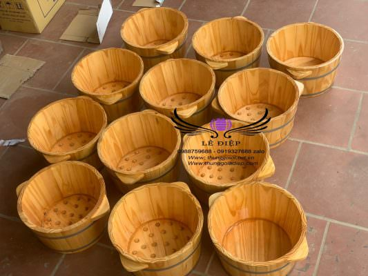 bán chậu gỗ ngâm chân giá rẻ