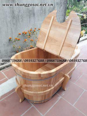 bán thùng gỗ xông hơi
