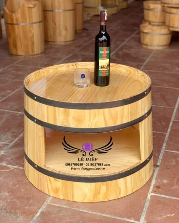 bàn thùng rượu kiểu tây âu