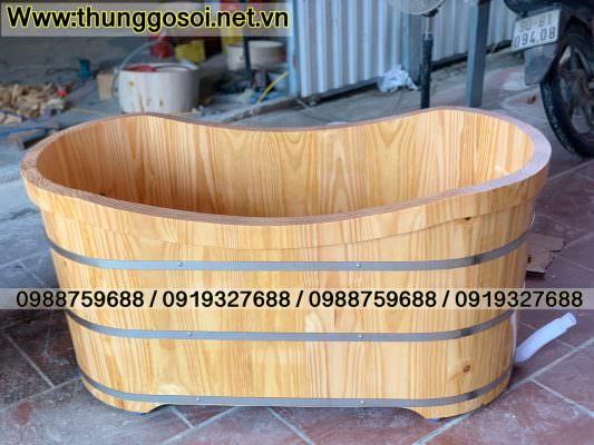 bồn bằng gỗ thông nhập khẩu châu âu
