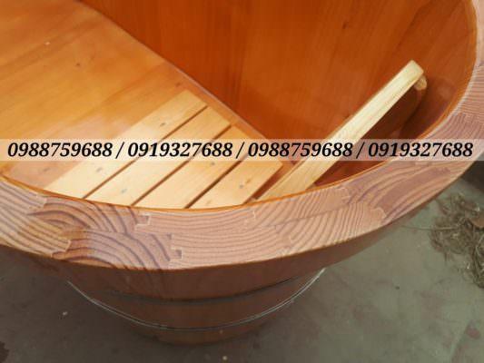 bồn gỗ ghép âm dương