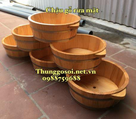 bồn gỗ làm nail
