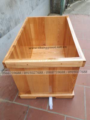 Bán bồn tắm bằng gỗ