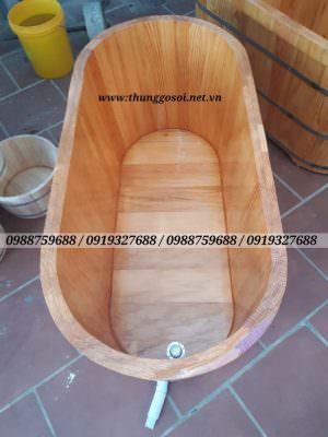 bồn gỗ tắm thaỏ dược