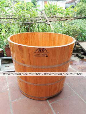 Bồn tắm gỗ ở hà nội