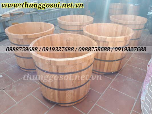 bán bồn tắm gỗ sồi tại hà nội, đà nẵng, HCM