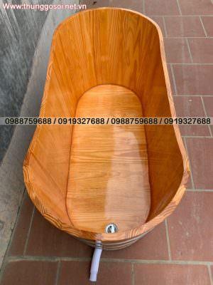 thùng tắm gỗ tại cssx Lê Điệp