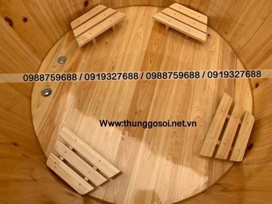 4 ghế ngồi sử dụng trong bồn