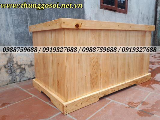 thùng tắm gỗ pơ mu nhật cao cấp