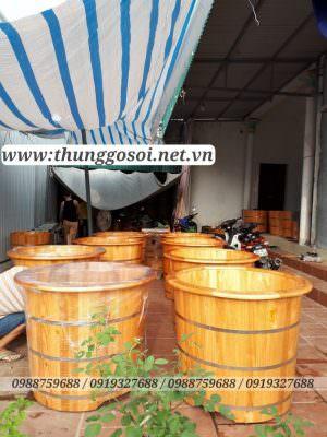 bán bồn tắm gỗ hà nôi, TPHCM, Đà nẵng