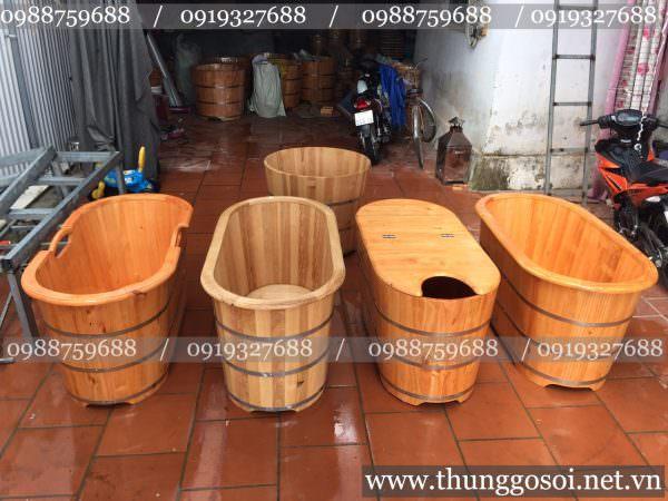 bán bồn tắm gỗ tại hà nội, đà nẵng, tphcm