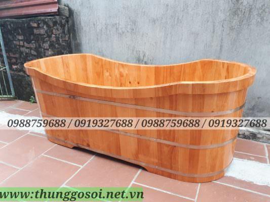 Bồn tắm gỗ cho khách sạn