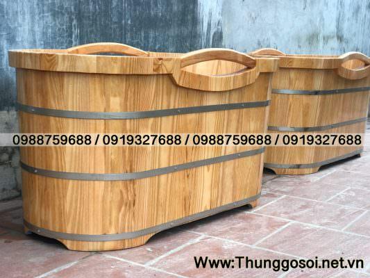 bán bồn tắm bằng gỗ tại Lê Điệp