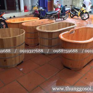 bồn tắm gỗ chất lượng