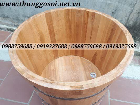 bồn tắm gỗ sồi, bán bồn tắm gỗ tại cssx lê điệp