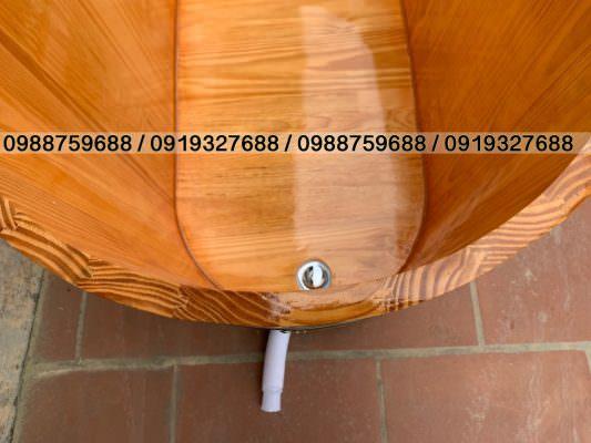bồn gỗ được ghép âm dương chống co ngót rò rỉ