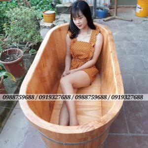 bồn tắm gỗ rẻ đẹp