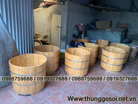 Bán bồn tắm gỗ ở TPHCM