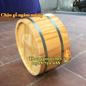 chậu gỗ ngâm phụ khoa