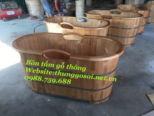cơ sở sản xuất bồn tắm gỗ