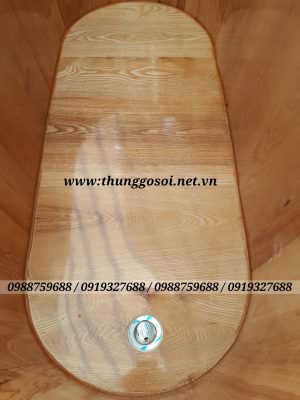 thùng gỗ sồi cao cấp