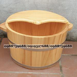 thùng gỗ ngâm chân giá rẻ