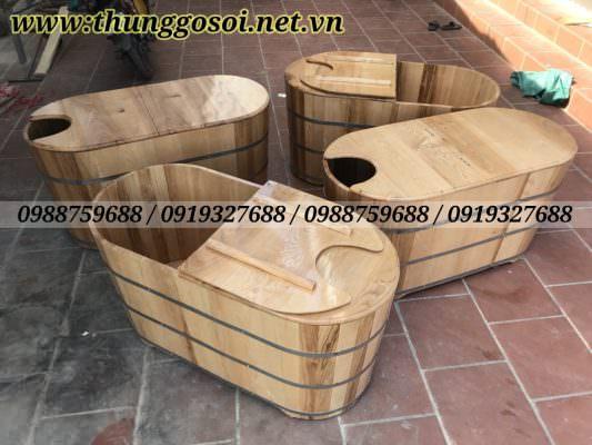 thùng gỗ xông hơi cao cấp