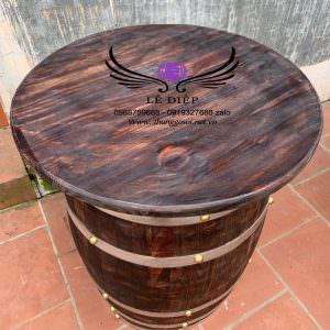 thùng gỗ trang trí