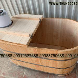 thùng gỗ xông hơi gỗ pơ mu nhật