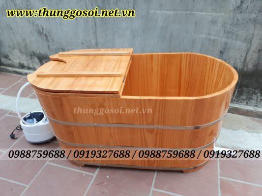 thùng gỗ xông hơi gỗ thông nhập khẩu