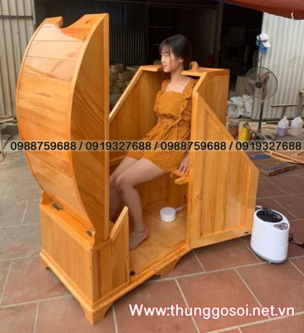 bán bồn gỗ xông hơi