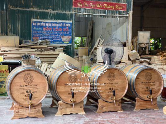 địa chỉ bán bom rượu gỗ