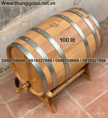 thùng rượu gỗ sồi