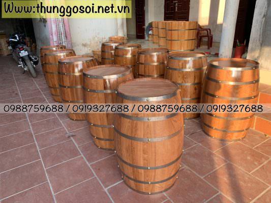 thùng gỗ quán bar