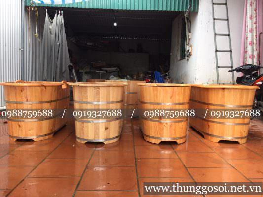 Bán bồn tắm gỗ tại tp HCM