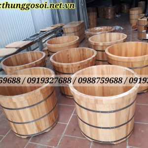 thùng tắm gỗ sồi tại cssx LÊ ĐIỆP
