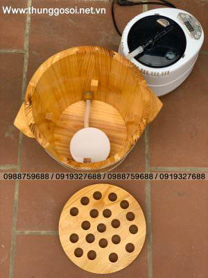 thùng xông đầu mini