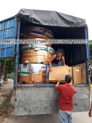 Vận chuyển bồn gỗ
