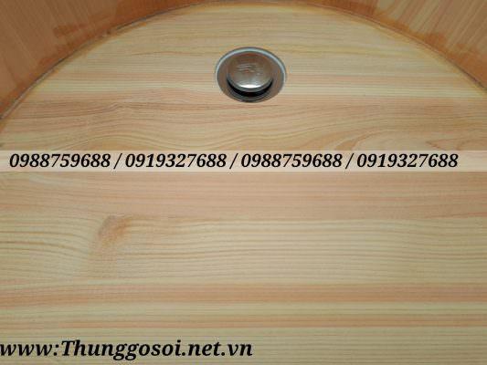 Bồn bằng gỗ có van