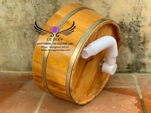 chậu gỗ, bồn gỗ