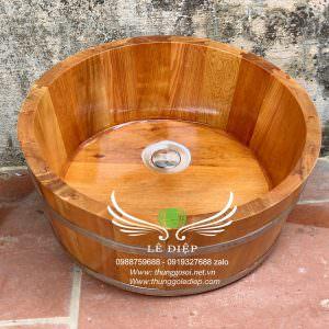 Chậu gỗ rửa mặt lavabo