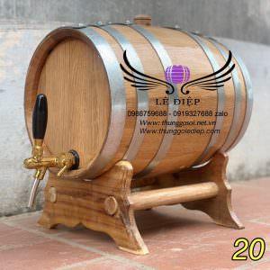 thùng gỗ sồi đựng rượu