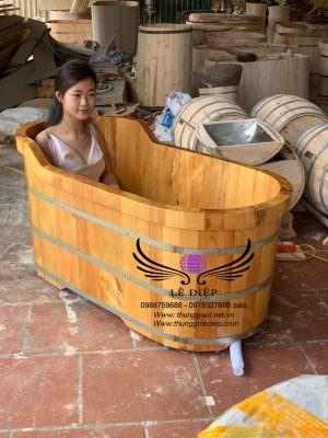 bán bồn tắm gỗ kiểu nhật