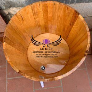 bồn tắm gỗ pơmu cao cấp