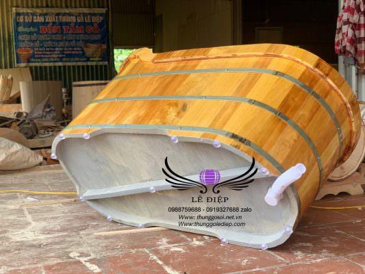đáy thùng gỗ sơn chống thấm cao cấp